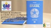 Agendamento de Passaporte
