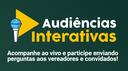 Audiência Interativa discutirá medidas de combate à pandemia