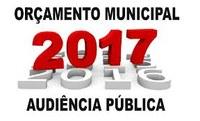 Orçamento Municipal 2017
