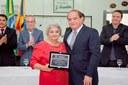 """Sessão Solene de Outorga da Placa """"Vereador José Cúgola"""" e do Título de Professor Emérito de Bicas,"""